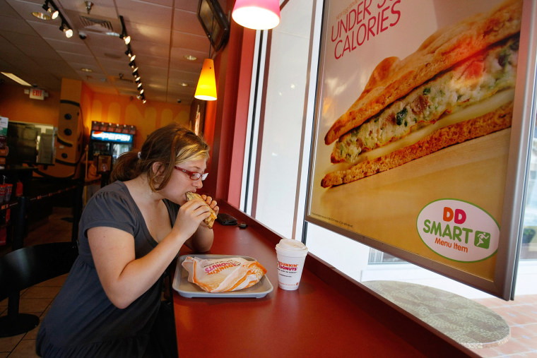 "Image: Dunkin' Donuts Adds Healthier ""DDSmart"" Options To Menu"