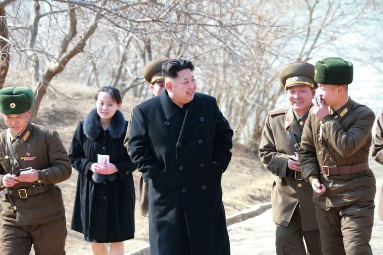 Image: Kim Yo Jong and Kim Jong Un