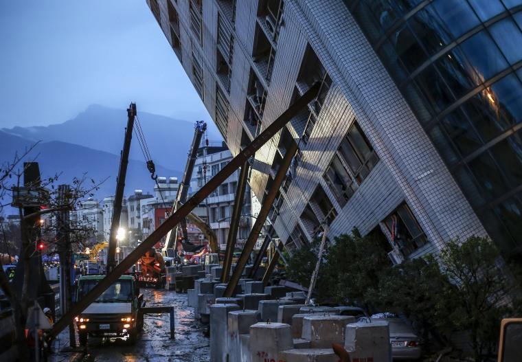 Image: Earthquake in Taiwan
