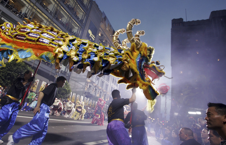 Image: Chinese New Year Parade Hits Streets Of San Francisco