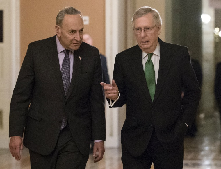 Image: Mitch McConnell, Chuck Schumer