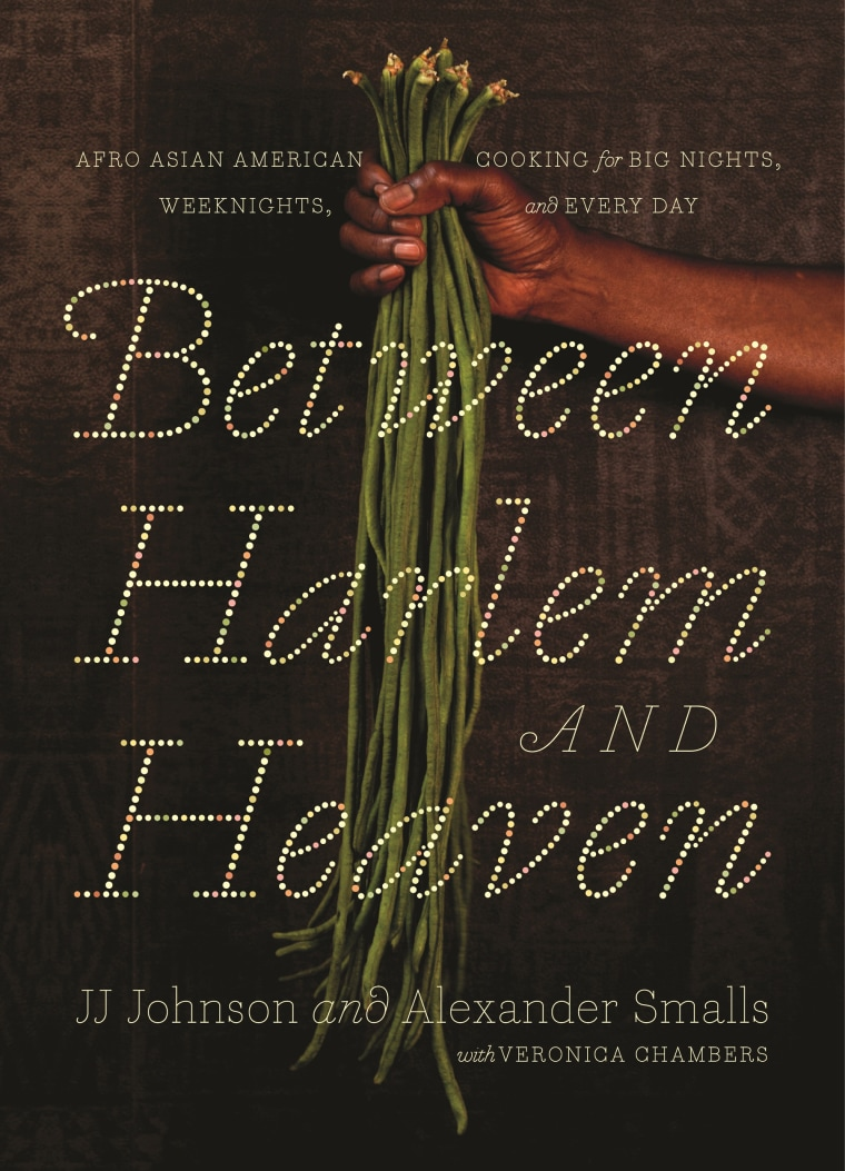 "Image: ""Between Harlem and Heaven: Afro-Asian-American Cooking for Big Nights."""