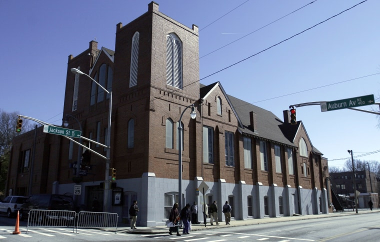 Image: Ebenezer Baptist Church in Atlanta