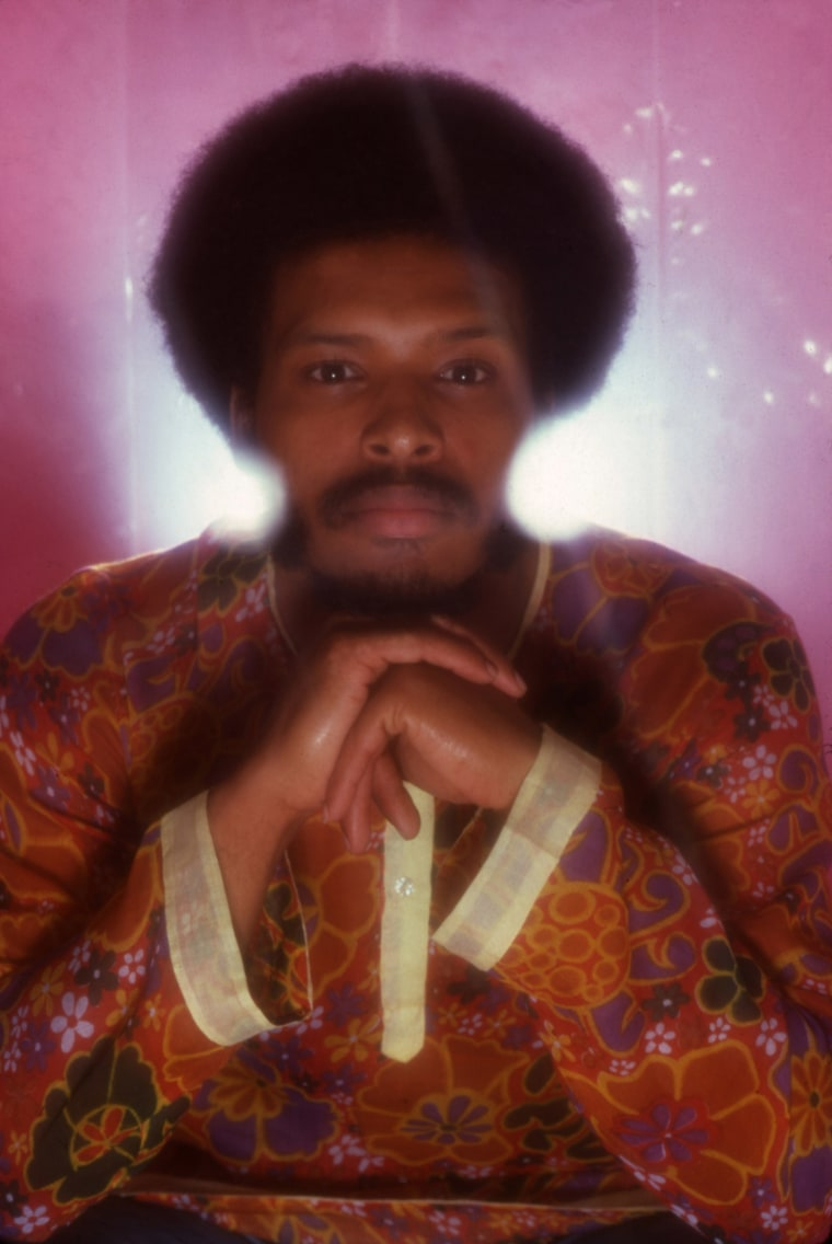 Image: Portrait of musician James Mtume, 1973.
