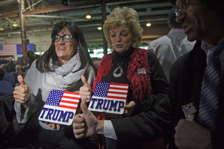 President Trump Visits Equipment Manufacturing Plant In Pennsylvania