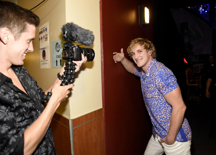 Image: Logan Paul attends the Teen Choice Awards in Los Angeles