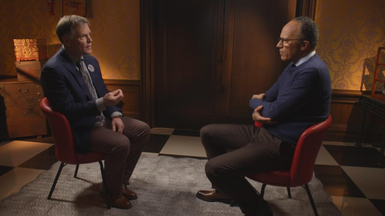 Image: Fred Warmbier and Lester Holt
