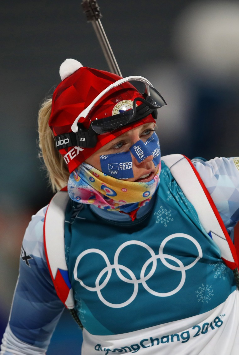 Biathlon - Winter Olympics Day 3