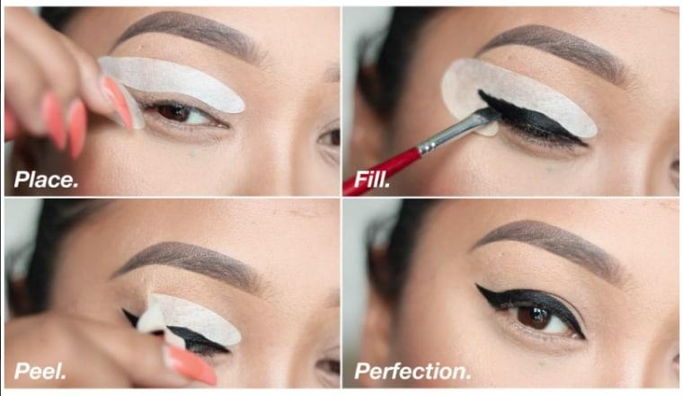 Eyeliner stencil set