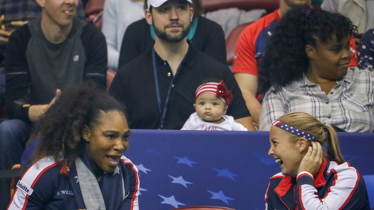 Image: Fed Cup tennis United States vs the Netherlands