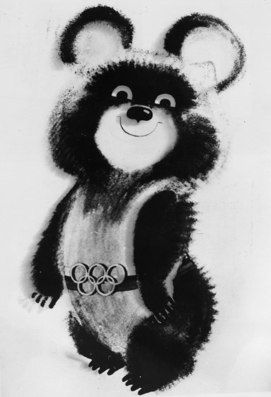 Misha - 1980 Summer Olympics, Moscow