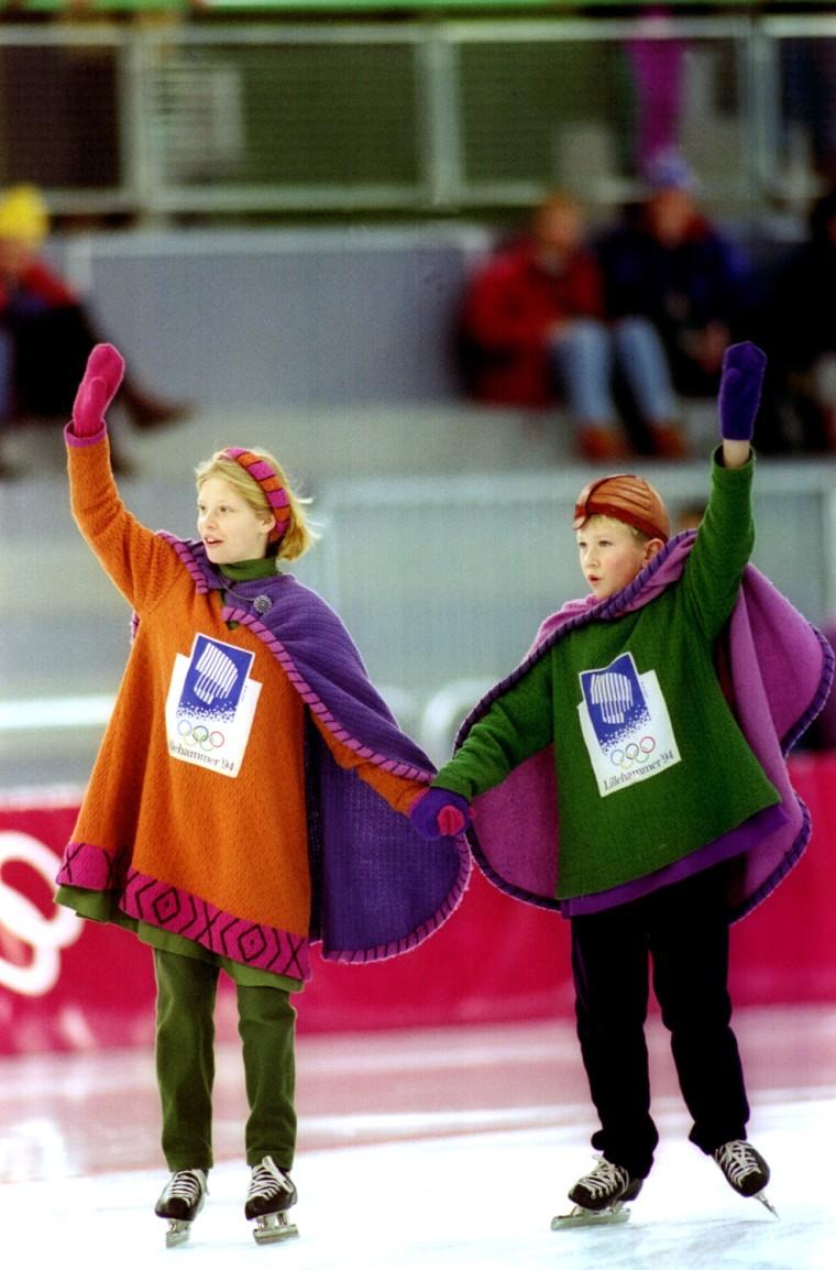 Hakon and Kristin - 1994 Winter Olympics, Lillehammer