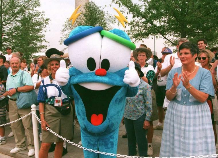 Izzy - 1996 Summer Olympics, Atlanta