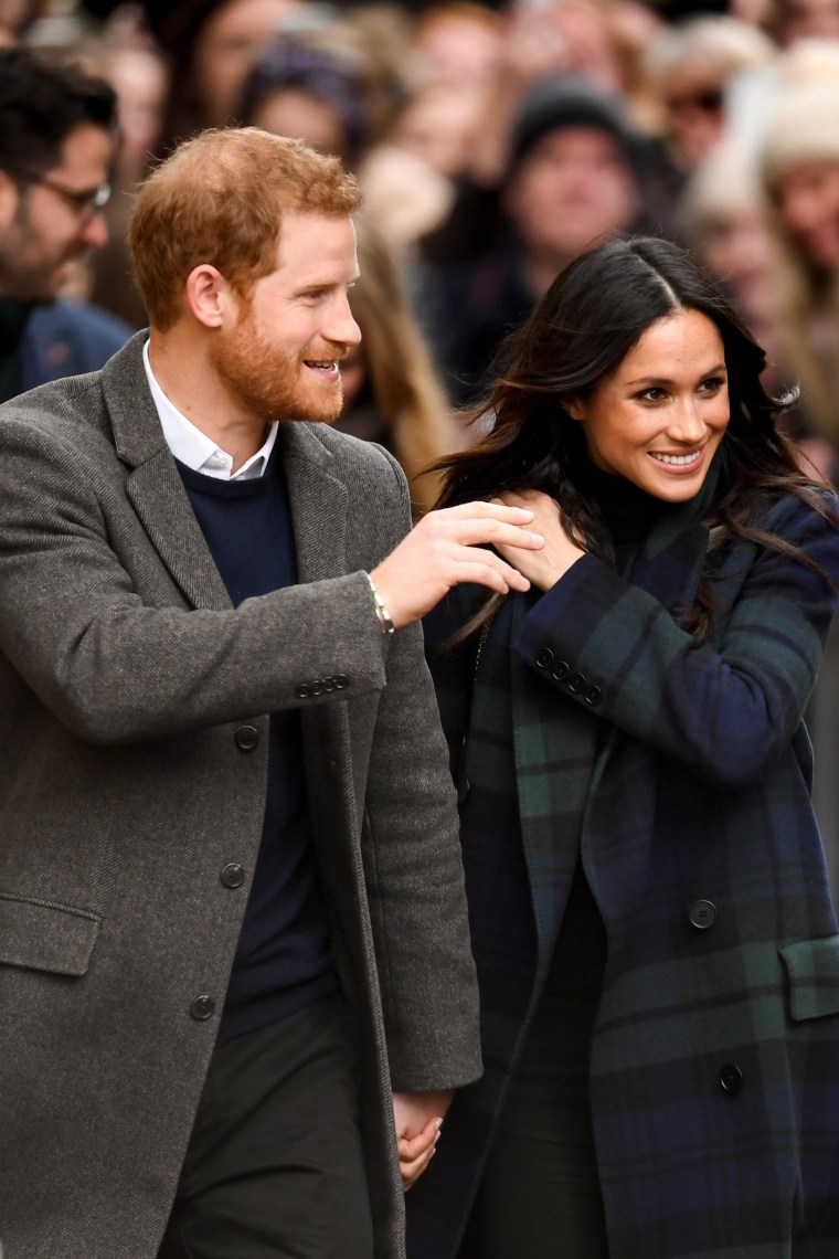 Image: Prince Harry And Meghan Markle Visit Edinburgh