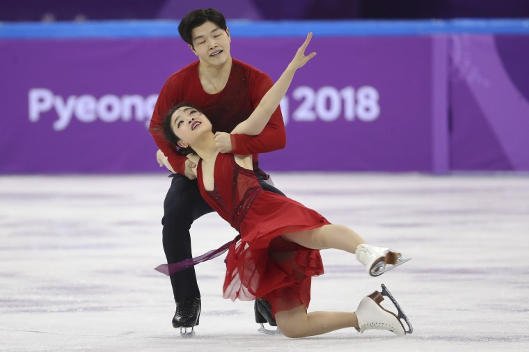 Image: Maia and Alex Shibutani of the U.S. perform their ice dance free dance routine as part of the team figure skating competition of the 2018 Winter Olympics at the Gangneung Ice Arena in Gangneung, South Korea.