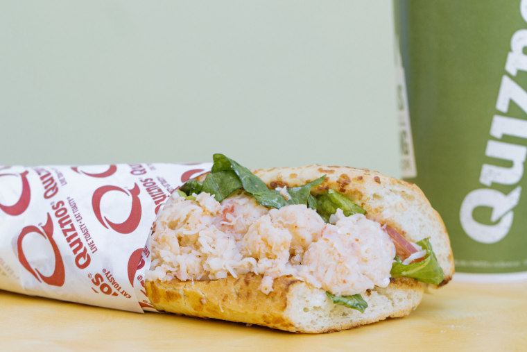 Quiznos Lobster Sub