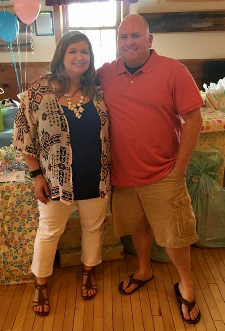Kelly and Mike Magnarini gained weight together and motivated each other to lose it together.