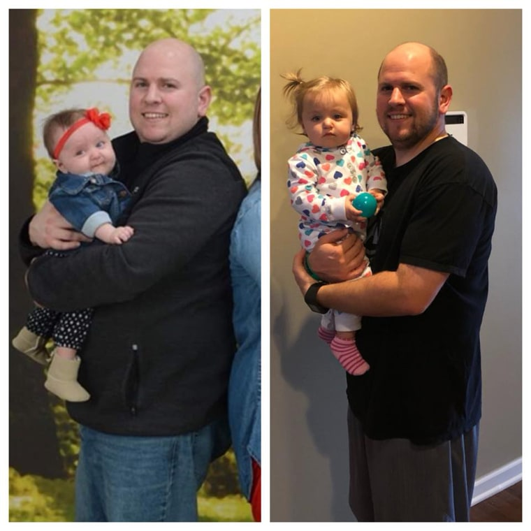 In less than a year Mike Magnarini lost 58 pounds. He believes it is easier with his wife by his side.