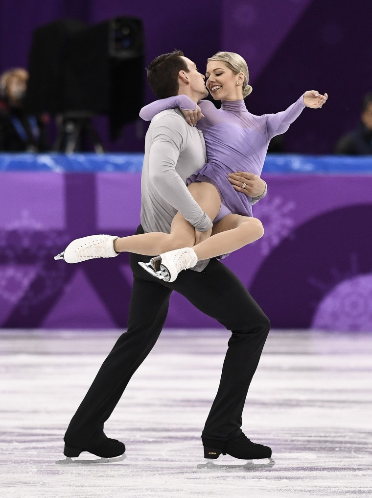 USA's Alexa Scimeca Knierim and Chris Knierim were paired up in 2012 and married four years later.