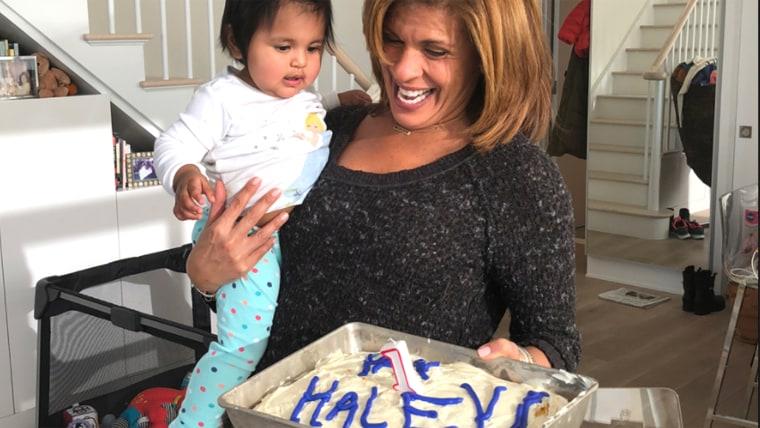 Hoda Kotb's birthday party for Haley Joy.