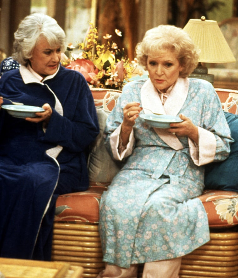THE GOLDEN GIRLS, Bea Arthur, Betty White, 1985-1992