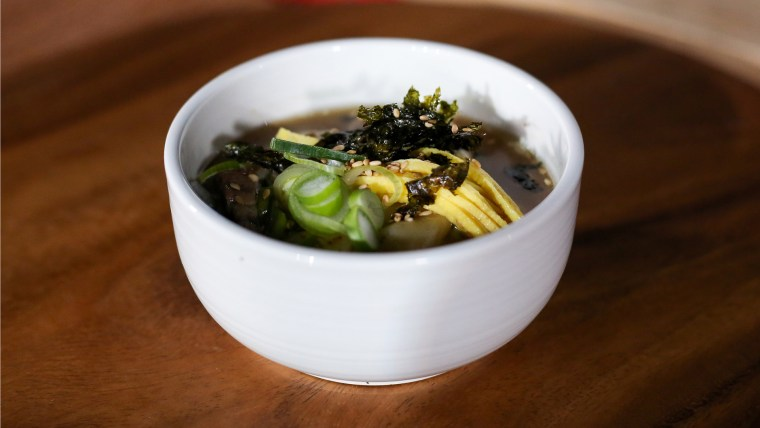 Judy Joo's New Years Rice Cake Soup