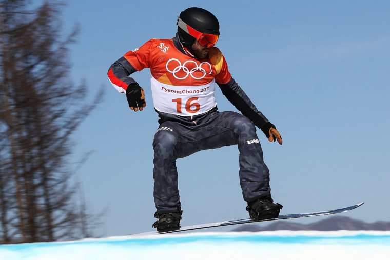 Image: Snowboard - Winter Olympics Day 6