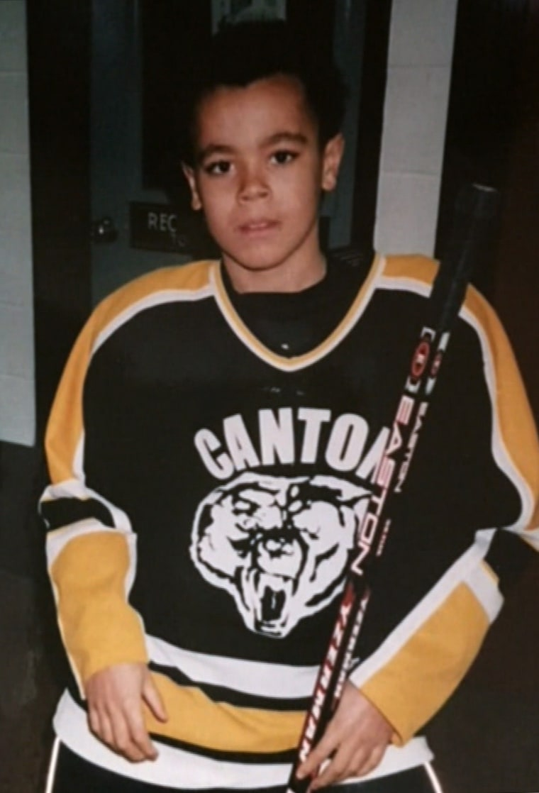 Jordan Greenway as a child