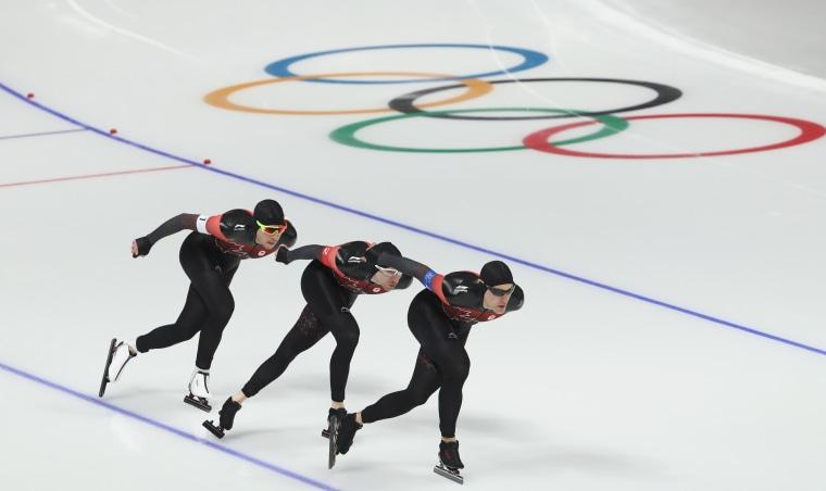 Speed Skating, Winter Olympics