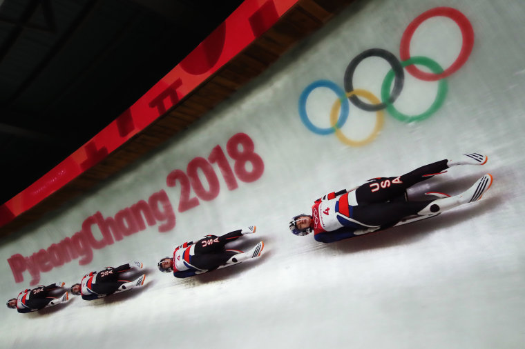 Image: Luge - Winter Olympics Day 3