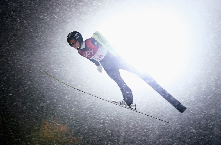 Image: Ski Jumping - Winter Olympics Day 3