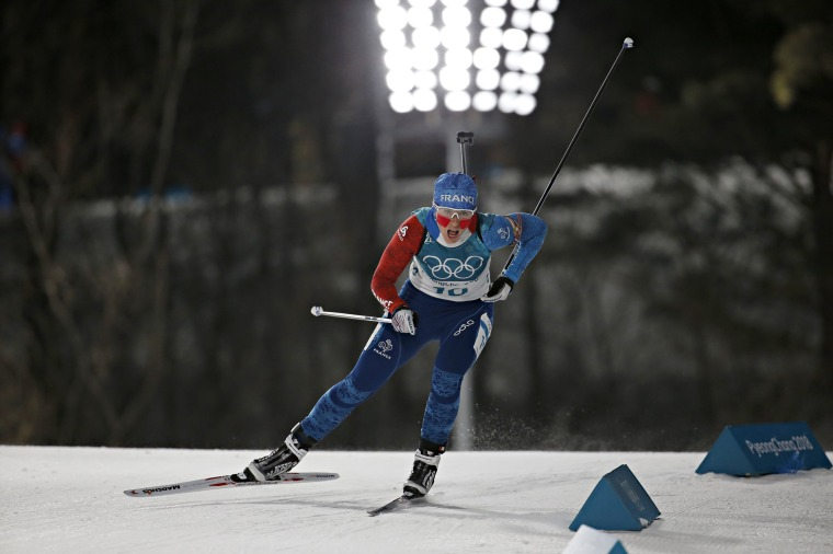 Image: Biathlon - Winter Olympics Day 3