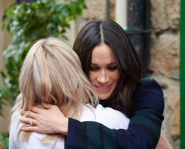 Image: Prince Harry and Meghan Markle visit to Edinburgh