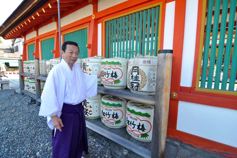 Image: Sake in Kyoto