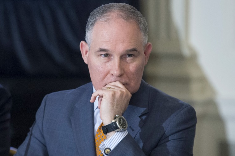 Image: US Environmental Protection Agency (EPA) Administrator Scott Pruitt