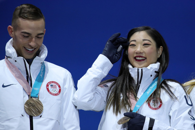 Image: Medal Ceremony - Winter Olympics Day 3