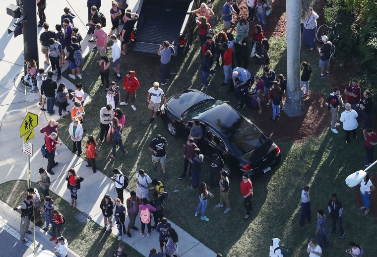 Image: Shooting At High School In Parkland, Florida Injures Multiple People
