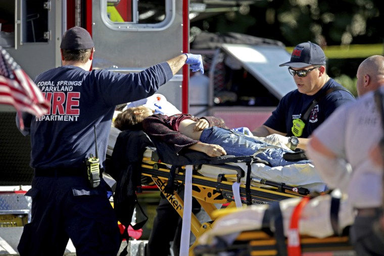 17 killed in mass shooting at high school in Parkland, Florida