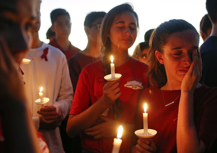Image: FLorida School Shooting Vigil