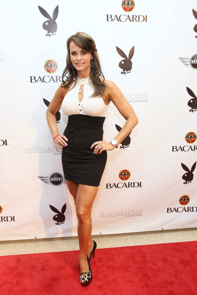 Image: Former Playboy model Karen McDougal
