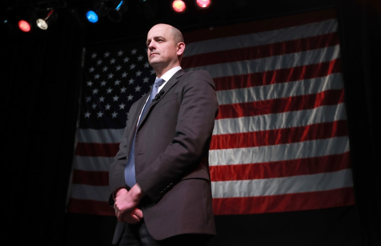 Independent Presidential Candidate Evan McMullin Holds Election Night Event