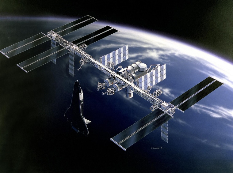 Image: Space Station Freedom