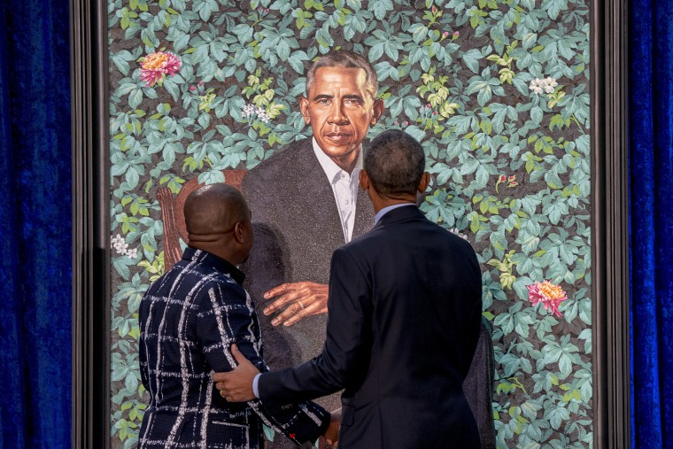 Image: Barack Obama, Kehinde Wiley