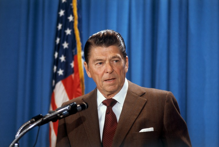 Image: Ronald Reagan, Republican candidate for the presidency.