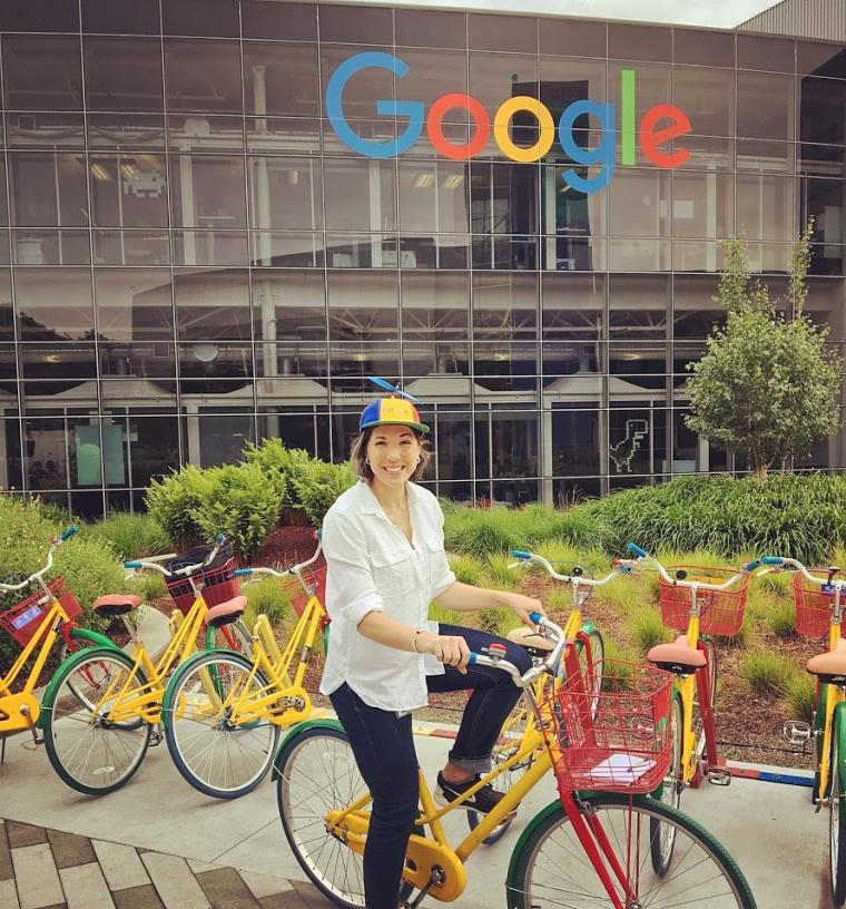 Image: Natalie O'Brien, formerly Natalie Dell, at Google.