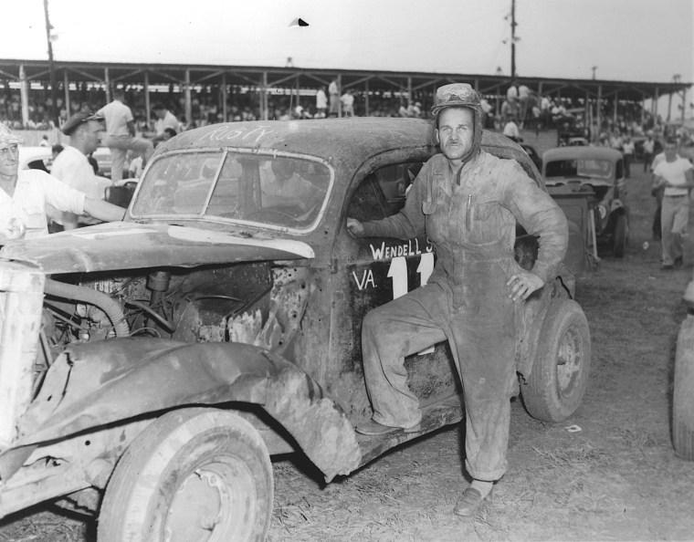 Image: Wendell Scoot in 1954 in Danville, Virginia.