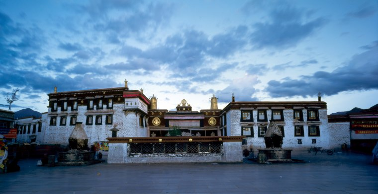 Image: The Jokhang Temple in Lhasa, southwest China's Tibet Autonomous Region.