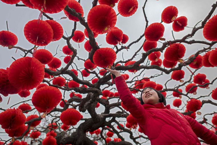 Image: TOPSHOT-CHINA-LUNAR-NEW-YEAR