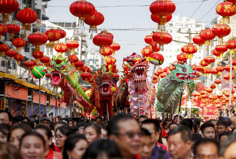 Image: Chinese New Year celebrations