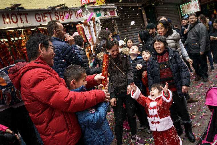 Image: New York's Chinatown Marks First Day Of The Lunar New Year